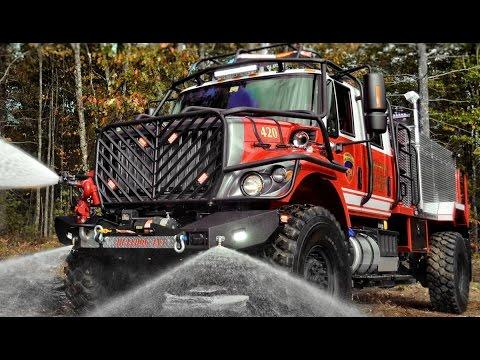 Off Road Fire Truck >> Bulldog 4x4 Firetruck Production Extreme Brush Truck