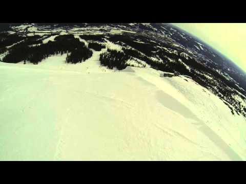 Skistar Trysil slope 45 degrees