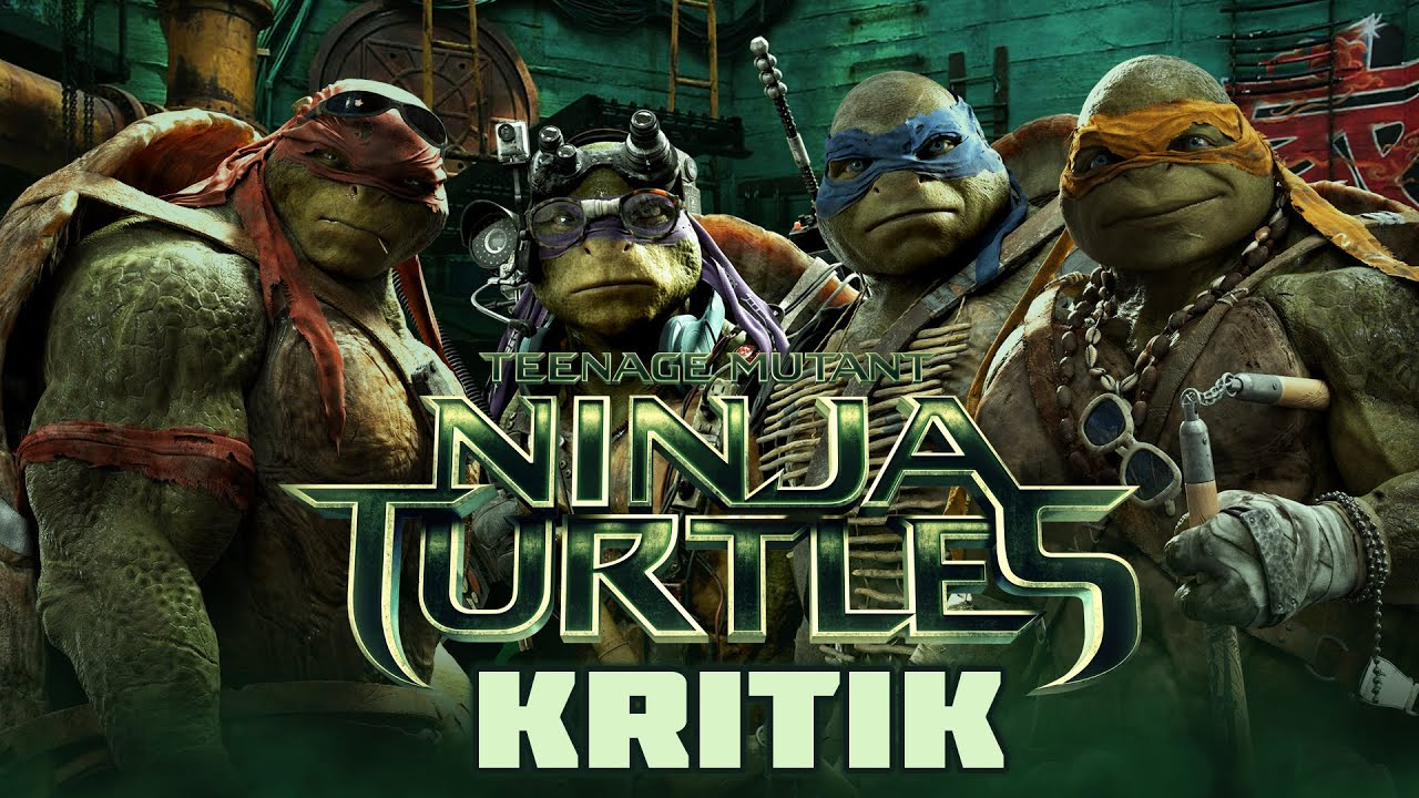 TEENAGE MUTANT NINJA TURTLES  Kritik  Review DEUTSCHHD  YouTube