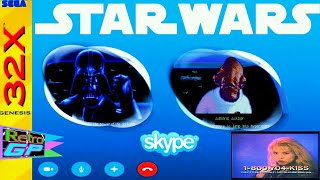 Star Wars Arcade Gameplay on the SEGA 32X - A Launch Title for the 32X - Retro GP