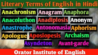 Download Mp3 Literary Terms In English Literature || A ||