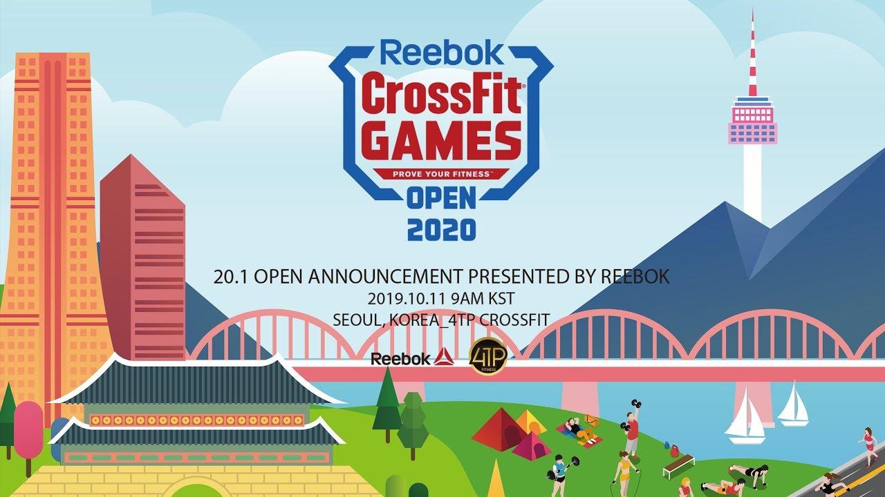 Reebok Crossfit Games 2020.Reebok Crossfit Open 20 1 Live Announcement Youtube