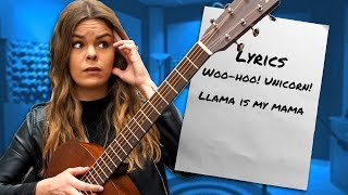 Writing A Song With Lyrics From 30 People!