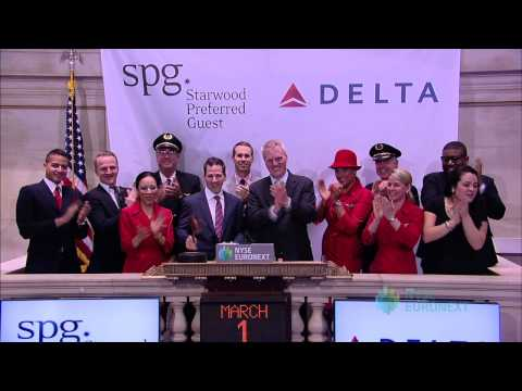 Starwood Hotels & Resorts Worldwide and Delta Air Lines Celebrate the Launch of Crossover Rewards
