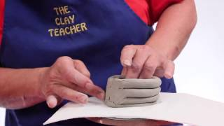 Making a Simple Clay Coil Pot - Teaching Clay to Elementary Students - Episode 8 - Part 1