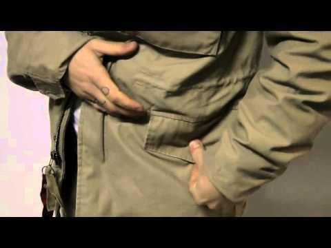 ALPHA INDUSTRIES FALL 11 M65 KHAKI