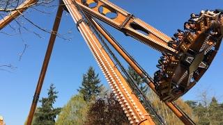 Au Mans, le parc d'attractions Papéa est ouvert