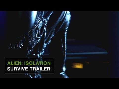 "Alien: Isolation Official E3 Gameplay Trailer -- ""Survive"" [INT]"