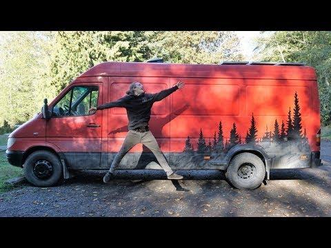 Epic Mountain Bike Van Conversion Tour!!