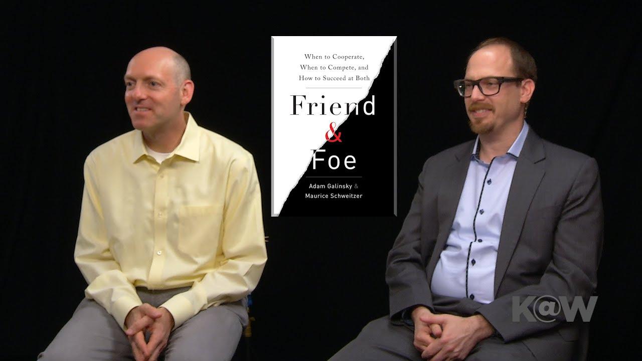 FRIEND AND FOE ADAM GALINSKY EBOOK