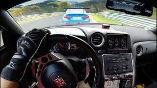 POV : Nissan GTR GL RACING vs Bmw M4 DEVOTEC / Nordschleife Nurburgring 30.10.17