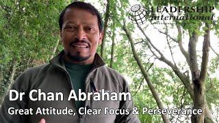 Great Attitude,Clear Focus & Perseverance