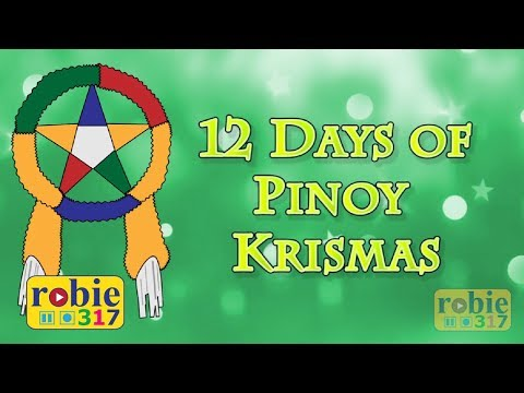12 Days of Pinoy Krismas Animated (Tagalog Christmas Song)