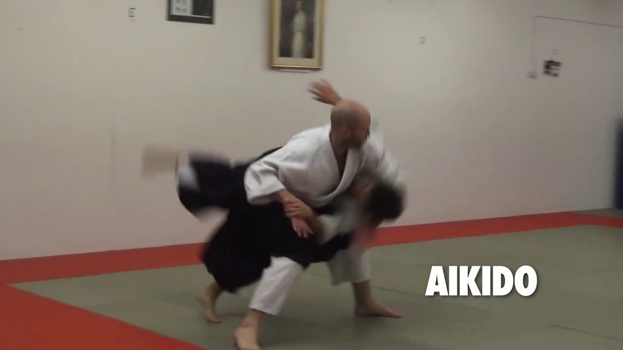 Aikido: Phil Rozier, Crawley Judo Club