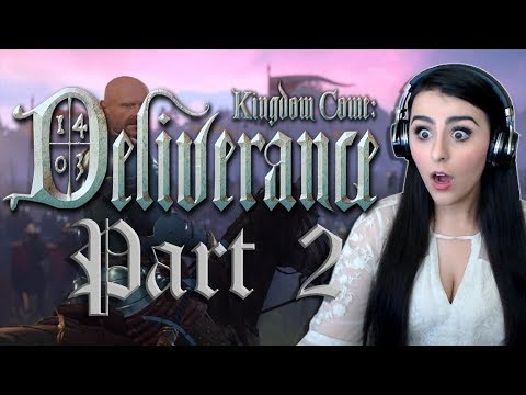 KINGDOM COME DELIVERANCE | PART 2 DARING ESCAPES AND MARRIED WOMEN
