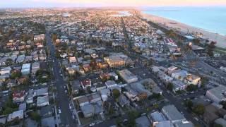 Long Beach Evening Flight 2nd Street DJI Phantom 3