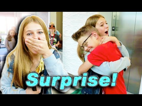 Teen SURPRISED Her Sister With CRUSH!