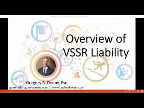 Overview of VSSR Liability Webinar: Violations of a Specific Safety Requirement