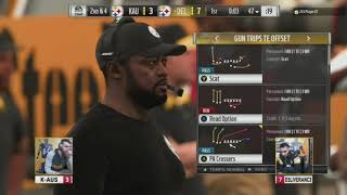 Madden 19 | KAUS Vs. D3LIVERRANC3 | Steelers Club Series
