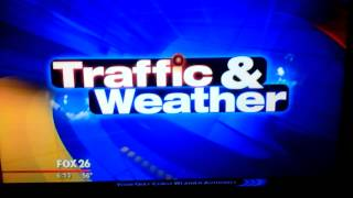 Fox 26 Traffic And Weather Logo