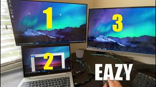 How to connect Dual Monitors to Laptop for under $20