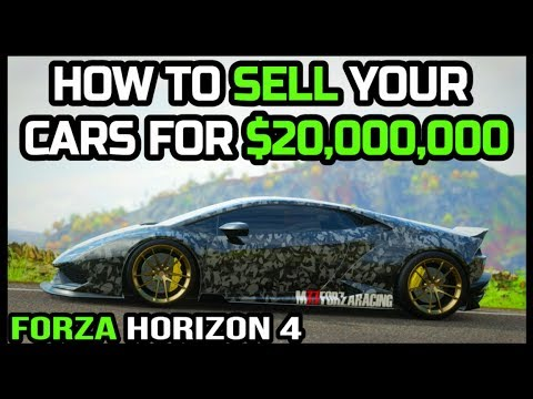 HOW TO MAKE MONEY IN FORZA HORIZON 4 ($100,000,000CR+)