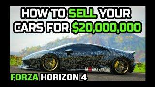 HOW TO MAKE MONEY IN FORZA HORIZON 4 ($100,000,000CR+)