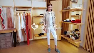 Новая коллекция Loro Piana Женский casual образ Фирменный бутик в Лакшери Store Тренды 2020