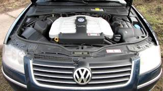 VW PASSAT W8 engine