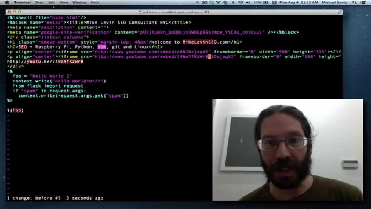 f170bf05782098 A very tiny vim tutorial, every keystroke described. - YouTube