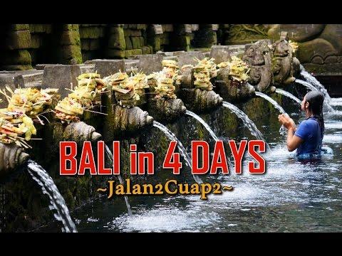 #GATravelution -  Empat Hari Jalan-Jalan di Bali