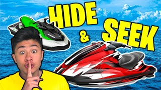 HIDE and SEEK on JET SKIS!!
