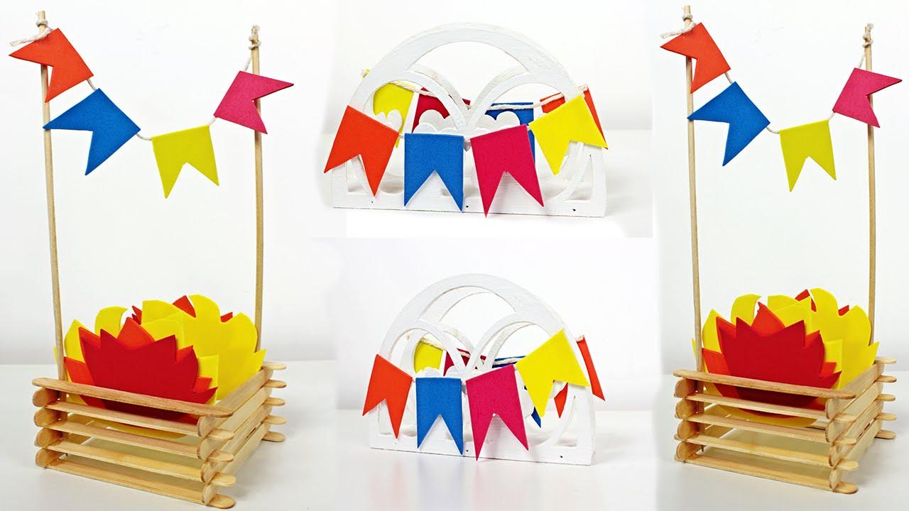 Como Fazer Centro De Mesa Para Festa Junina Faça Sua Festa Por