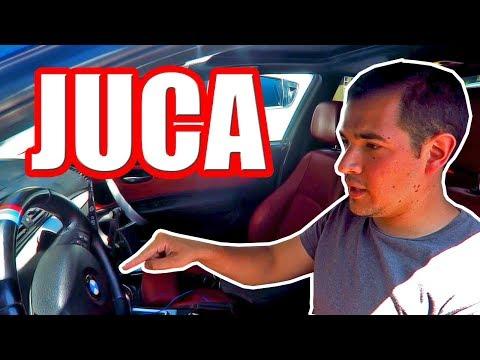 JUCA conoce el BMW de Ganque - *¡Esta fue su Reacción!*