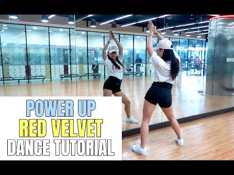 Red Velvet 레드벨벳 'Power Up' Lisa Rhee Dance Tutorial