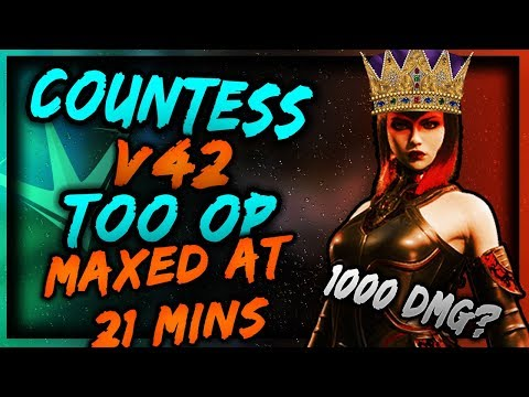 Paragon v42 COUNTESS MAXED AT 21 MINS|SHE IS TOO STRONG|CAN I KILL W/ ONE ABILITY?🔥🆘CURSED CARD