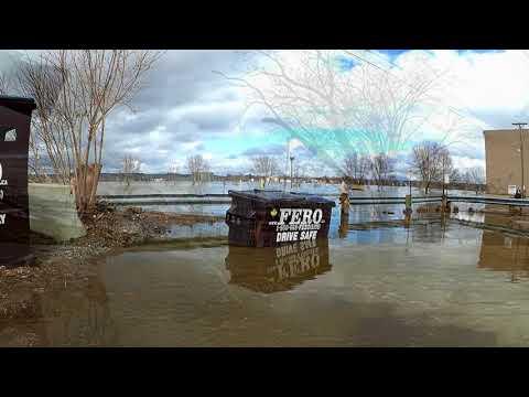 Saint John River Flood 2018 - Fredericton, New Brunswick, Canada