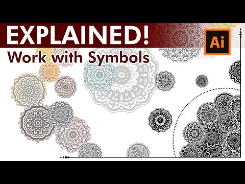 How to work with Symbols - Adobe Illustrator Tutorial