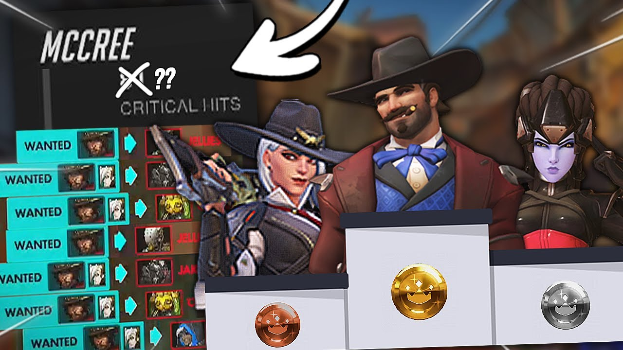 Download WORLD RECORD for most headshots as mccree?