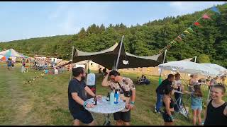 #AufAnfang: Party-People strömen zum #Festival nach #Auen