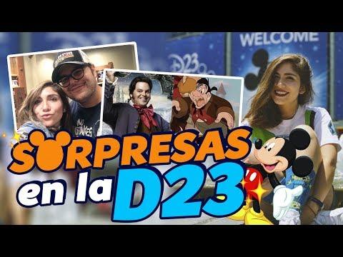 SORPRESAS EN LA D23 - Nath Campos