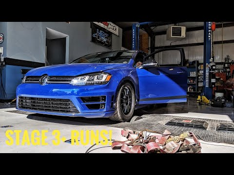 Stage 3+ EQT Vortex Dyno Results! | Mabotech Tuned | MK7 Golf R