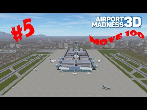Los Angeles Airport Move 100 // Airport Madness 3D #5