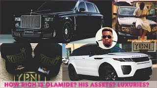 How Rich is Olamide  All Olamides Mansion Sources of Income Jewelries Cars  Luxuries