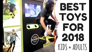 The Best Toys for 2018 - for kids & adults - at Toy Fair New York