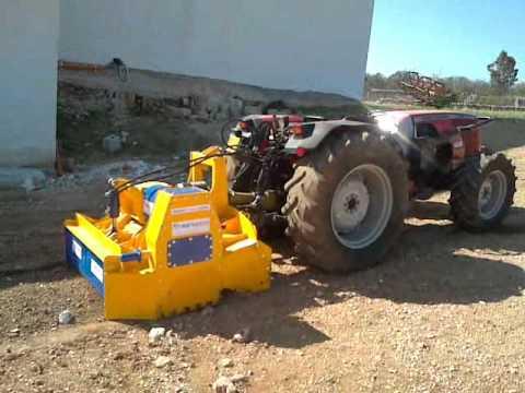 Fresa per roccia trainata doovi for Di raimondo macchine agricole