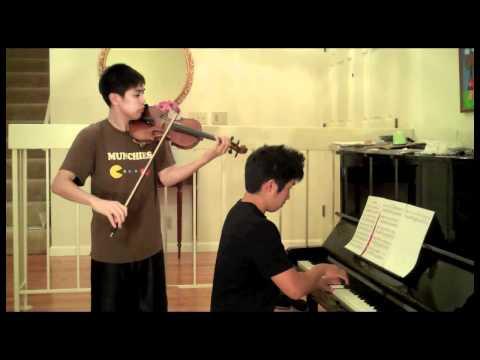 Samidare (Early Summer Rain) - Naruto Shippuden - Violin, piano duet