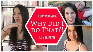 SCARY EXPERIENCE!   Our Day in Odaiba, Japan