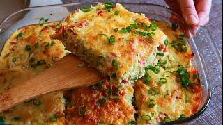 НИЗКОКАЛОРИЙНЫЙ ПП УЖИН Вкуснейшая Запеканка из Кабачков с Мясом. Ешь сколько Хочешь!