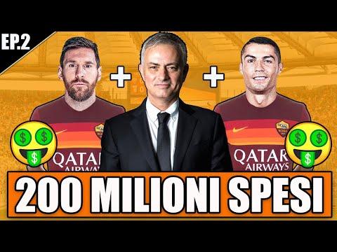 💸 200 MILIONI SPESI PER LA ROMA!! + GOAL DELLA VITA FATTO!! FIFA 21 CARRIERA ALLENATORE ROMA #2